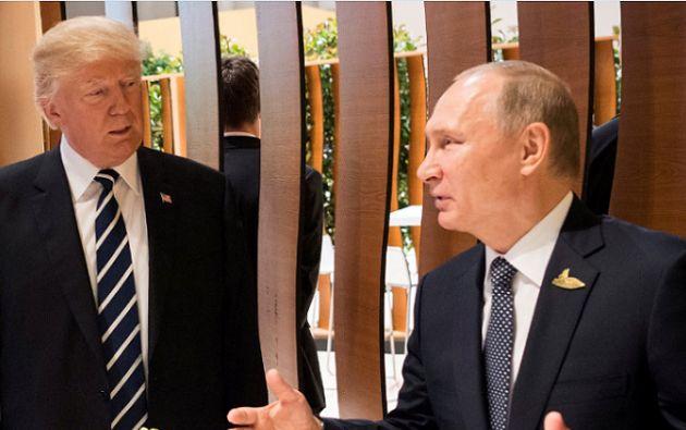 """Trump dijo que su yerno y asesor, Jared Kushner, """"lo hizo muy bien"""" este lunes, cuando compareció a puerta cerrada ante el Comité de Inteligencia del Senado. Foto: Reuters"""