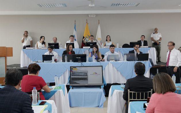 José Serrano, presidente de la Asamblea, dijo que esta modalidad de Asamblea en territorio no se podrá realizar recurrentemente. Foto: Flickr Asamblea