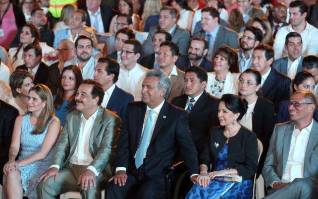 """Moreno: """"Gracias Guayaquil, mi alma siempre está aquí, con un corazón revolucionario"""". Foto: Twitter Presidencia"""