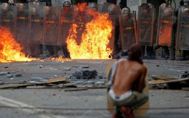 La cifra de muertos se eleva 106 en casi cuatro meses de protestas. Foto: Reuters