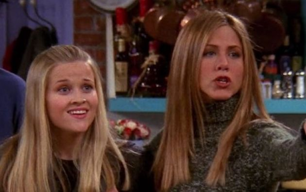 """No será la primera vez que ambas actrices trabajen juntas, ya que Witherspoon encarnó a la hermana pequeña de Aniston en """"Friends"""". Foto: Internet"""
