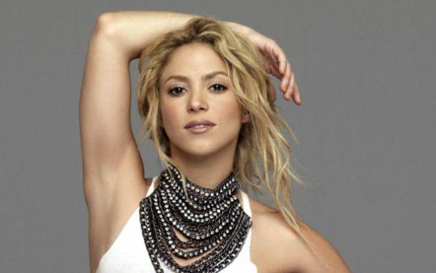 """Shakira al momento promociona su nuevo disco """"El Dorado"""" y graba su próximo video junto a Nicky Jam. foto: Agencias"""