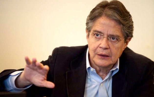 """Lasso: """"la verdad de cifras que revelan la irresponsabilidad de Correa y su equipo económico"""". Foto: Archivo"""