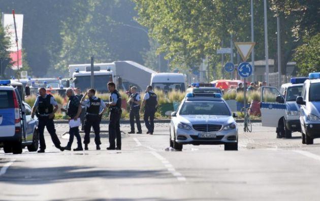 La policía local descartó la tesis de un atentado. Foto: AFP