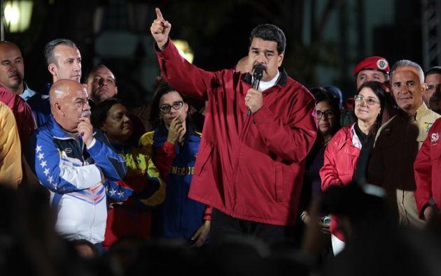 Ayer se llevó a cabo la votación para elegir a los miembros de una Asamblea Constituyente convocada por Nicolás Maduro. Foto: Reuters