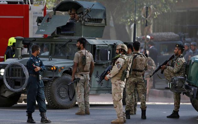 Los diplomáticos iraquíes fueron evacuados a un lugar seguro, ninguno resultó herido. Foto: Reuters