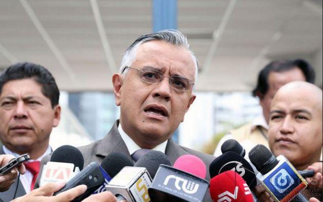 Mera aclaró que cuando el Gobierno investigó a Ricardo Rivera, tío  deJorge Glas, no encontró cuentas en el extranjero. Foto: Andes