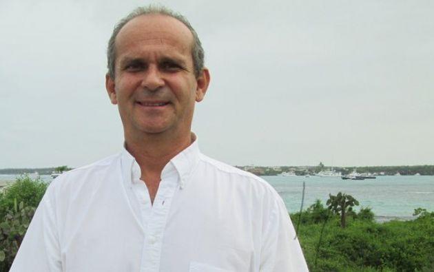 El doctor Arturo Izurieta Valery es el primer ecuatoriano a cargo de la Fundación Charles Darwin. Foto: Fundación Charles Darwin