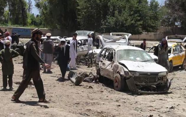 Según las primeras informaciones, en él participaron dos terroristas. Foto: Infobae