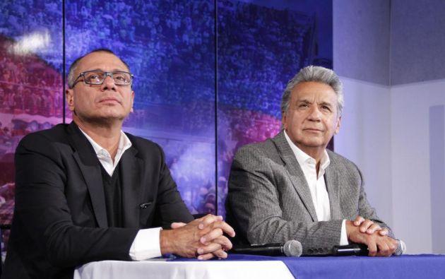"""Glas: """"el presidente Moreno conocía muy bien las cifras económicas, porque él fue parte del Gobierno anterior"""". Foto: Archivo"""