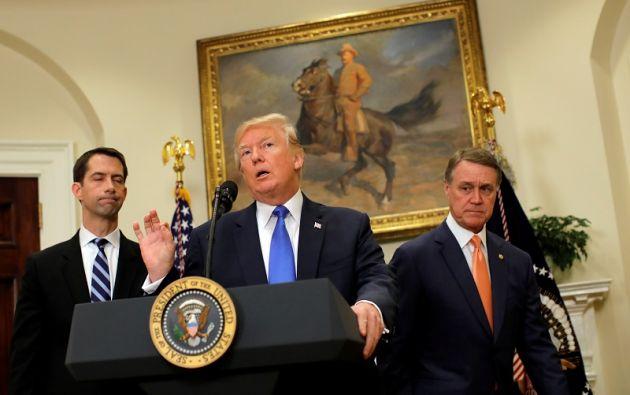 El presidente promulgó la ley después de la orden decretada la semana pasada por Moscú al Gobierno de EE.UU. Foto: Reuters