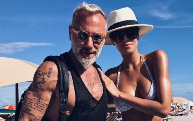 """Según dijo la colombiana la semana pasada, ella y Gianluca solo son """"grandes amigos"""". Foto: Instagram"""