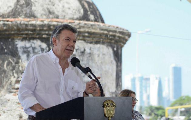 Tras sellar la paz con las FARC, Santos negocia un pacto similar con el ELN en Quito. Foto: Reuters