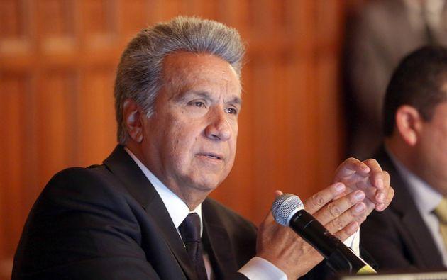 Moreno insistió en que mantendrá su lucha por la ética política y contra la corrupción. Foto: Flickr Presidencia