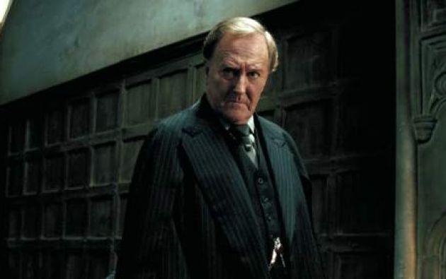 En 'Harry Potter' interpretó al ministro de Magia Cornelius Fudge. Foto: Internet