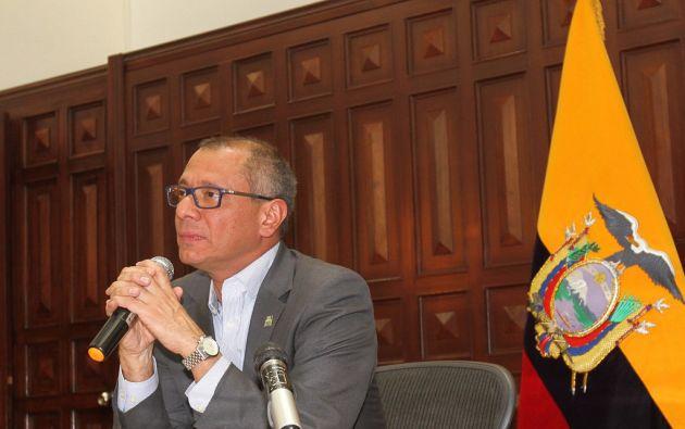 Vicepresidente Glas advirtió el jueves que habría un nuevo audio sobre él. Foto: Flickr Presidencia.