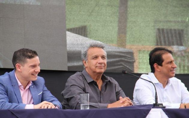 """Moreno: """"Yo no soy como otros que andan extrañando la presidencia, si estoy acá es porque me lo pidieron"""". Foto: Twitter"""