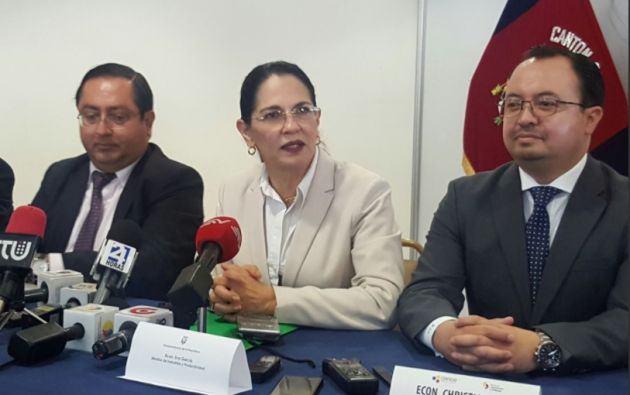 Eva García presidirá temporalmente el Consejo Consultivo Productivo y Tributario. Foto: Twitter