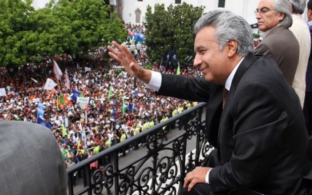 """Moreno: """"La lealtad es con la patria y no con los mafiosos y los que se encubren entre ellos"""". Foto: Twitter"""
