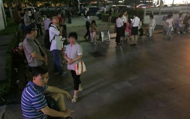 Al menos cien turistas han quedado atrapados en un parque natural de la zona afectada. Foto: AFP