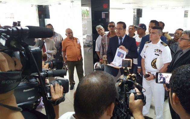 El Consejo de Disciplina de la Armada Nacional sancionó el 28 de septiembre de 2016 con 10 días de arresto a Ortega. Foto: Ecuavisa