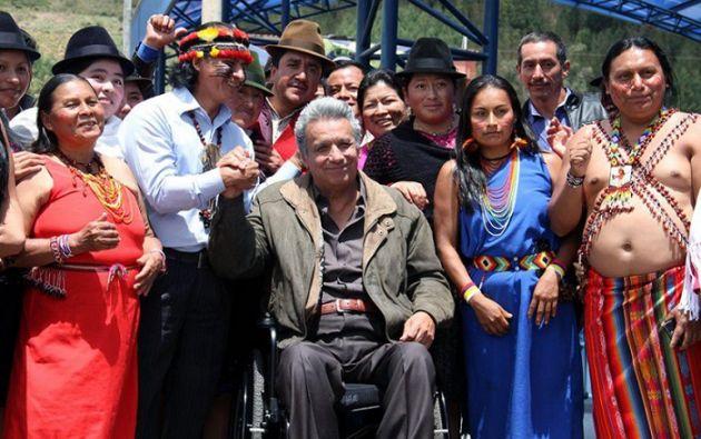 """""""La corrupción se lleva miles de millones de dólares que pueden ser escuelas, centros médicos o carreteras"""", recalcó Moreno. Foto: Twitter"""