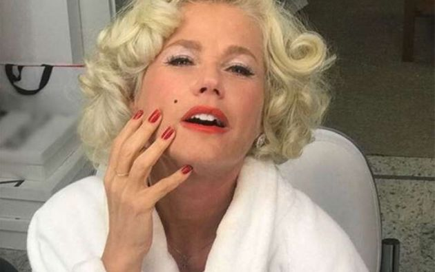 La presentadora brasileña de 54 años se transformó en la diva estadounidense. Foto: MSN