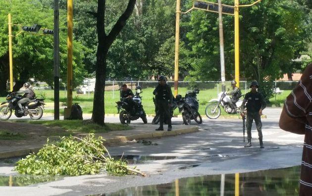 Los líderes del ataque a Paramacay, fuerte militar en el norte de Venezuela, fueron capturados por los cuerpos de seguridad, anunció este viernes el ministro de la Defensa. Foto: Archivo referencial