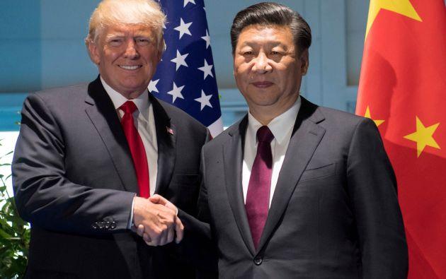 """""""Las partes implicadas (en alusión a EEUU y Corea del Norte) deben evitar declaraciones y acciones que aumenten la tensión"""", señaló Xi. Foto: Reuters"""