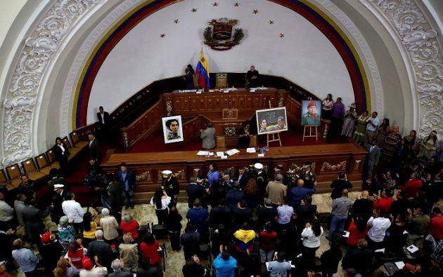 """El decretó recordó que """"todos los órganos del poder público se encuentran subordinados a la Asamblea Nacional Constituyente. Foto: Reuters"""