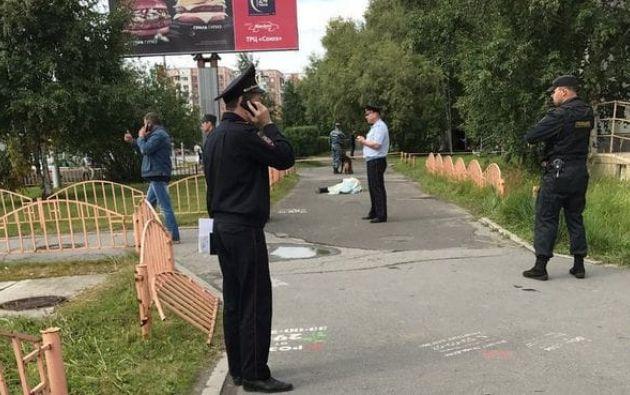 Las autoridades rusas ya han identificado al hombre que cometió el ataque y que fue abatido por la policía, aunque no otorgaron prioridad a la hipótesis terrorista. Foto: Policía de Rusia