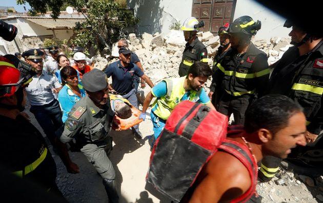 El temblor tuvo lugar a las 20H57, con epicentro localizado a 10 km de la isla. Foto: Reuters