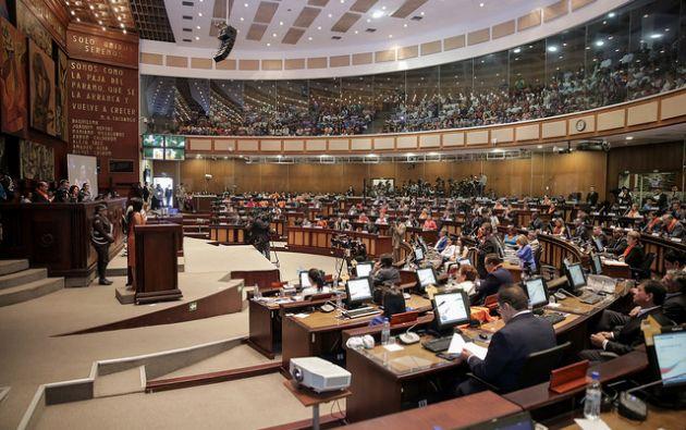 El Pleno se allanó a las objeciones del Presidente, Lenín Moreno, con respecto a las disposiciones reformatorias primera, segunda, cuarta y sexta. Foto: Flikr