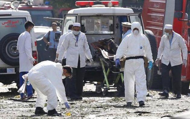 Un atacante suicida detonó un coche cargado de explosivos. Foto referencial
