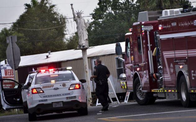 """La compañía indicó que """"prevalecía la amenaza de explosiones adicionales"""". Foto: AFP"""