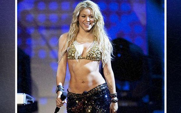 """Shakira se está preparando para su gira mundial, """"El Dorado"""". Foto: Internet"""