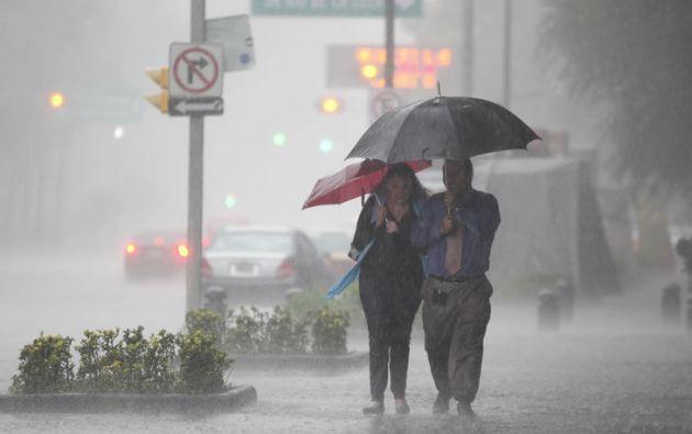 La Conred se mantiene en alerta amarilla por la actual temporada de lluvias que inició en abril y se extiende a noviembre. Foto: Internet