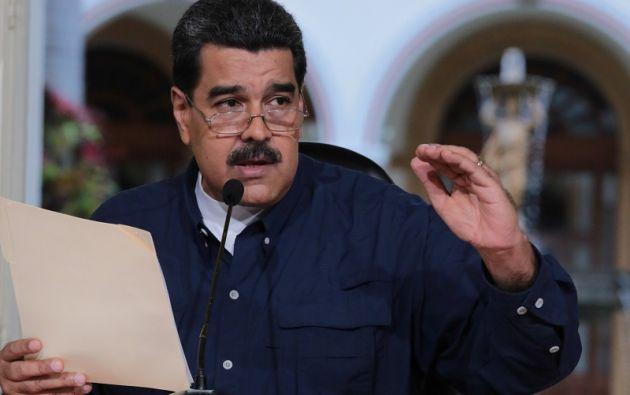 Está previsto que el canciller Arreaza Montserrat lo haga en su lugar. Foto: Reuters