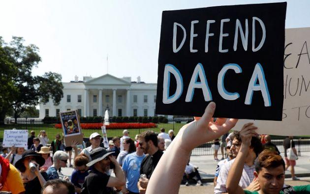 """Trump defendió rápidamente la decisión, afirmando que su """"prioridad"""" son """"los trabajadores estadounidenses"""". Foto: Reuters"""