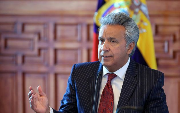 Moreno también defendió su decisión de entregar a la banca privada el manejo del dinero electrónico. Foto: Flickr Presidencia