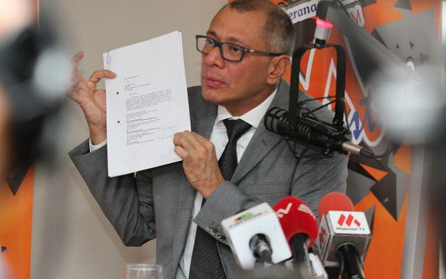 El pasado 29 de agosto, la Corte Nacional de Justicia de Ecuador impuso a Glas la medida cautelar de prohibición de salida del país. Foto: Flickr Vicepresidencia