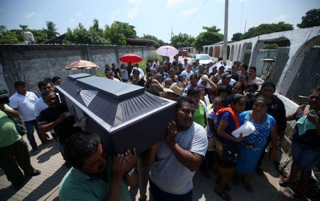 En Juchitán, en el estado de Oaxaca y la zona más devastada con 36 muertos y numerosas construcciones en ruinas, los socorristas daban por concluida su tarea. Foto: Reuters