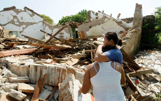 Hasta la medianoche del sábado se produjeron 846 réplicas del sismo de magnitud 8,2 del jueves por la noche. Foto: Reuters