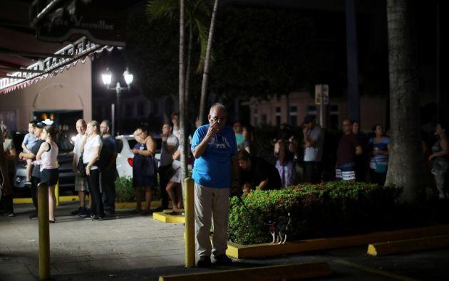 Muchas áreas de Miami siguen sin electricidad tras el paso del huracán Irma en Florida. Foto: Reuters