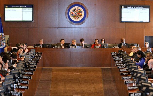 La OEA informó que la delegación de Venezuela fue invitada a participar de la audiencia. Foto: Internet