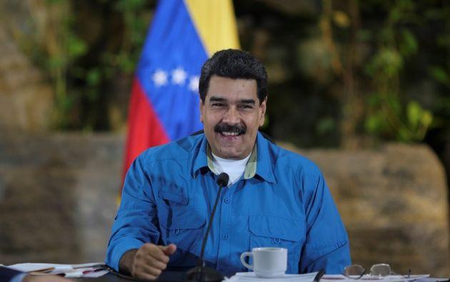 """""""Se aprobó iniciar un 'plan conejo', porque los conejos además se reproducen como conejos"""", bromeó Maduro. Foto: Reuters"""