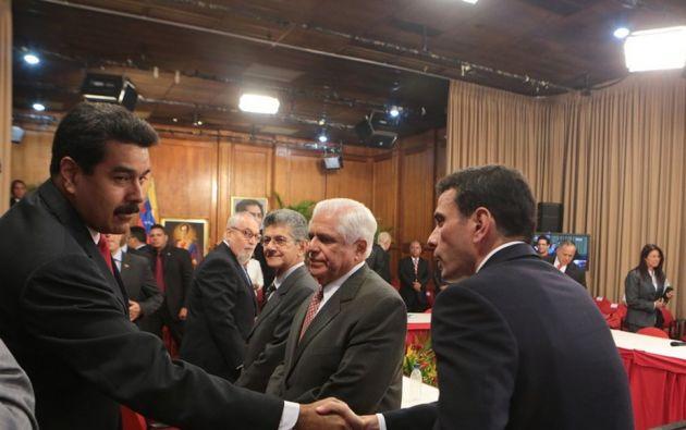 Representantes del Gobierno de Venezuela y la oposición se reunieron esta semana en Santo Domingo como inicio de un eventual nuevo proceso de diálogo. Foto: Archivo - referencial