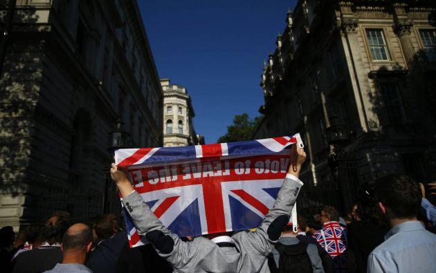 El Gobierno británico afirmó el domingo que quería cerrar con la Unión Europea un nuevo tratado de seguridad. Foto: Archivo - Referencial