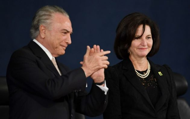 La fiscal, de 56 años, llega en pleno recrudecimiento de la crisis política desatada por los escándalos de corrupción. Foto: AFP
