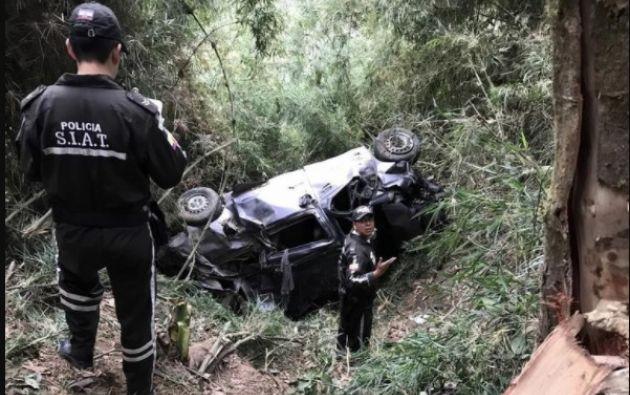Según las primeras versiones, cinco personas fallecieron y siete quedaron heridas, todos funcionarios del Consejo de la Judicatura de Babahoyo. Foto: Ecuavisa
